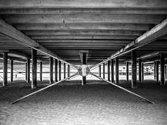 _1070741-HDR.jpg (alexmerwin13) Tags: bridge england favorite white black geometric beach nature architecture pier sand europe pattern shot artistic top united shapes kingdom x hdr weston supermare