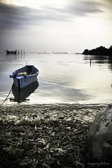 Going somewhere (aganjabber) Tags: sunset beach indonesia island ship jawa pulau perahu payung nelayan seribu kapal kepulauan
