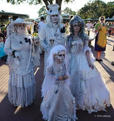 Happy haunts? (ddindy) Tags: halloween orlando florida disney disneyworld waltdisneyworld magickingdom hauntedmansion mickeysnotsoscaryhalloweenparty