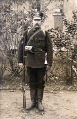 Italian Modello 1870 bayonet ( drakegoodman ) Tags: portrait german soldiers ww1 1wk greatwar firstworldwar soldat bayonet weltkrieg feldgrau feldpost troddel