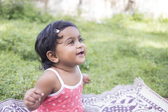 Life in the Outside World. (Aishath Azleena) Tags: baby male nature smile out happy nikon infant maldives d800 9months azu bymommy shalish