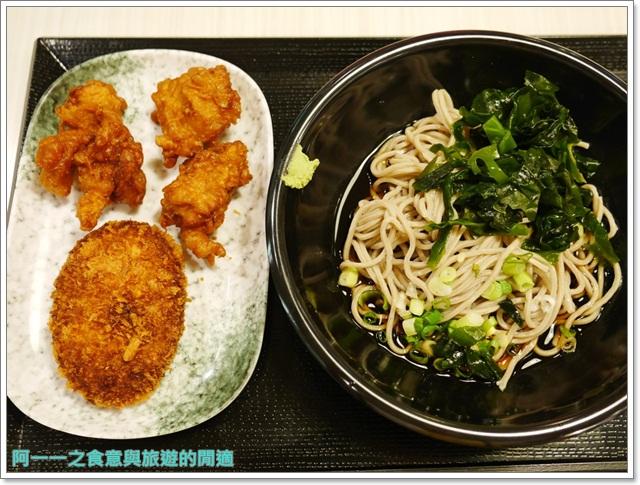 台中新光三越美食名代富士蕎麥麵平價炸物日式料理image022