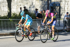 Astana and Lampre-Merida riders on the Grand Allee (Ray's Professional Cycling Page) Tags: gpcqm astana specialize pcg lampremerida grandprixcyclistedequebec bicycleracing uciworldtour cycling race bikes wielrennen cyclisme racing fietsen sports cyclismo