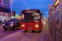 Catch 22 Bus Ex-Stagecoach Volvo B10M Alexander PS R898XVM under the illuminations on Blackpool Promenade (Mark Bowerbank) Tags: bus 22 volvo under illuminations ps promenade catch alexander blackpool b10m exstagecoach r898xvm