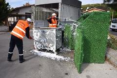 aliaga_cöp konteynerleri dezenfekte ediliyor (2) (aliagabelediyesi) Tags: çöp ediliyor dezenfekte konteynerleri