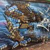 ED209 (andy council) Tags: houses streetart art church andy wall bristol graffiti robot mural paint spraypaint robocop belton ed209 andycouncil mtn94