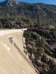 O'Shaughnessy Dam (s__i) Tags: dam yosemitenationalpark tuolumneriver oshaughnessydam hetchhetchyvalley