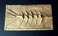 Fish bones (orig4mi.) Tags: fish paper origami bones fold