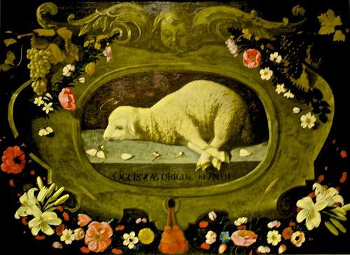 Agnus Dei (c. 1670) - Josefa Ayala (1630 - 1684)
