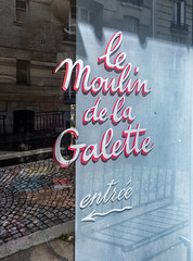 Le Moulin de la Galette (Dale Michelsohn) Tags: road street leica city paris france streets reflection apple window glass windmill sign mobile french restaurant nice nikon dale montmartre provence iphone villefranchesurmer dalem lemoulindelagalette iphone5 d40x d7000 dlux4 dalemichelsohn