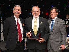 Recipient of our Anna Freeman Davies Founders Award, 2015, shown with (left) Rob Kutzik, Executive Director, and Ralph McDevitt, immediate past board president.