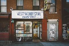 WEST 14 CANDY STORE (light thru my lens) Tags: nyc newyorkcity ny newyork les candy manhattan storefronts candystore tiendas texto escaparates caramels caramelos fachadas negocio botigues aparadors façanes