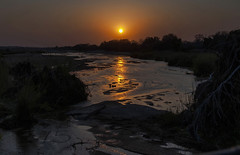 Sunset in Kruger (Fil.ippo) Tags: sunset panorama water landscape southafrica tramonto filippo krugernationalpark sudafrica d5000 filippobianchi
