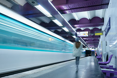 Paris Underground 5 (CreART Photography) Tags: longexposure urban paris underground subway mtro urbanvisions mtroparisien