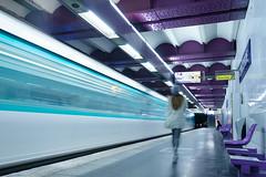 Paris Underground 5 (CreART Photography) Tags: longexposure urban paris underground subway mtro urbanvisions mtroparisien