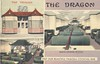 The Dragon - Washington, D.C. (The Cardboard America Archives) Tags: 1948 vintage restaurant districtofcolumbia postcard chinese xmarksthespot