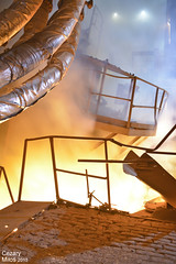 ISD HUTA CZĘSTOCHOWA - ZAKŁAD STALOWNIA, konwertor elektryczny KONEL podczas spustu stali. / ISD STEEL WORKS CZĘSTOCHOWA - STEEL PLANT, electric arc furnace during steel pouring. (Cezary Miłoś Fotografia Przemysłowa) Tags: hot industry industrial steel hütte poland polska polen furnace ofen isd stahl steelworks piec stahlwerk tapping smelting stal liquidmetal steelplant 2015 heavyindustry eaf częstochowa metalurgy huta metalurgia raków konel śląskie electricarcfurnace liquidsteel hutnictwo stalownia металлургический hutaczęstochowa металлургическийзавод cezarymiłoś isdhutaczęstochowa przemysłciężki konwertor konwertorelektryczny cezarymiłośfotografiaprzemysłowa przemysłhutniczy piecelektryczny częstochowskie zakładraków furnacetapping przemysłmetalurgiczny steelpouringout spuststali ciekłastal