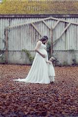 Beauty & the Bump (Ashly Rose) Tags: family autumn england baby english abandoned beautiful beauty leaves forest photoshop canon bride mya kent woods experimental photographer dress outdoor country pregnancy ivory experiment 85mm pregnant explore maternity concept gown weddingdress bridal conceptual explorers derelict bump fairytales bridalgown etchingham babybump urbanexplore 85mmf12lii janemarie canon85mmf12lii floralheadbands canon5dmkii 5dmarkii photoshopcc trouliotis beautythebump