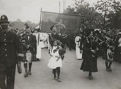 Scottish suffragettes, c.1906-1914.