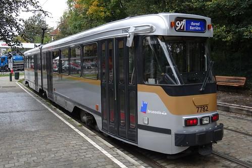 MIVB - Electric tramset N° 7782.