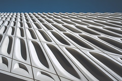 Broad Abstract 02 [Explore 2015-11-25] (Bokehneer) Tags: abstract geometric museum facade pattern broad converging