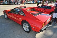 Ferrari 208 Cabriolet (TAPS91) Tags: ferrari solo cuore cabriolet 208 2 raduno carburatore