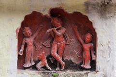 Krishna, (ghostwheel_in_shadow) Tags: india asia varanasi krishna kashi profession banaras benares uttarpradesh banares bhonsaleghat bhonsalepalace religiousormythicalfigure hindureligiousfigures