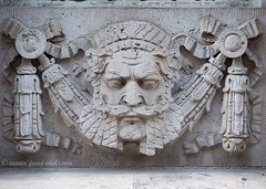 Neptune, India Buildings (.annajane) Tags: uk england sculpture face architecture liverpool exterior head carving neptune merseyside indiabuildings fenwickstreet