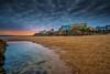 Sunset Tenby (technodean2000) Tags: uk west water wales pembroke coast sand nikon outdoor pembrokeshire lightroom seasky d610