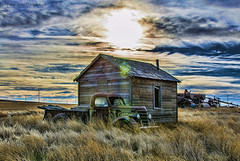 (Pattys-photos) Tags: old house abandoned broken truck montana farm neglected international decayed