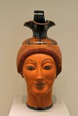 Woman's Head Wine Jug (f_snarfel) Tags: museumsinsel altesmuseumberlin antikensammlungberlin staatlichemuseenberlin womansheadwinejug frauenkopfweinkrug