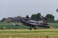 JAS-39 C/D Gripen -  Czech republic (Stéphane Laumont) Tags: republic czech cd tiger 50th meet nato 2011 gripen cambrai jas39