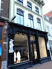 New Modern (failing_angel) Tags: 290416 netherlands noordbrabant shertogenbosch denbosch bosch500 34kerkstraat industry compass steamlocomotive beehive prosperity caduceus