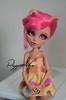 Cute Little Wolf (Puppet Tales Dolls) Tags: ooak ooakdoll doll repaint dollrepaint custom customization monsterhigh monster high howleenwolf howleen wolf cute pink hair
