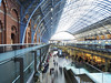 Christmas at St Pancras (DaveKav) Tags: london stpancras train transit travel uk gb unitedkingdom england layers urban