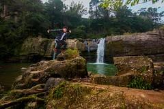 IMG_4279- (Kaiser~XD) Tags: 十分 平溪 嶺腳 嶺腳瀑布 jump