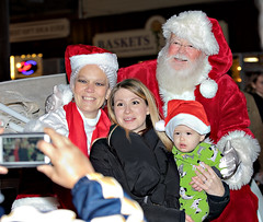 Old Fashioned Village Christmas - Babylon Village, Long Island (BabylonVillagePhotos) Tags: old fashioned village christmas night shopping babylon chamber commerce chamberofcommerce people santa clause movies carousel ride horse kids fun mrs drawn carraige claus