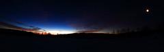 The Sun rise_2017_01_20_0002m1 (FarmerJohnn) Tags: sun rise sunrise kuu moon jupiter auringonnousu taivas sky morning aamutaivas taivaanranta pilvet clouds colors colorfull värikäs taivi winter january tammikuu suomi finland laukaa valkola anttospohja canon7d samyang358mmfisheyecsii canon 7d juhanianttonen