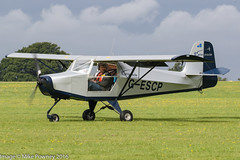 G-ESCP - 2004 build Just Reality Escapade, arriving at Sywell during the 2016 LAA Rally (egcc) Tags: 2016laarally bmaahb313 egbk escapade gescp givens hughes justreality laarally lightroom microlight northampton orm sywell