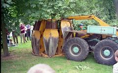Magirus Deutz Tree Transplanter (K Garrett) Tags: magirus deutz truck lorry tree surgeon transplant y hydraulic lifter spade digger 1993 royal show stoneleigh england