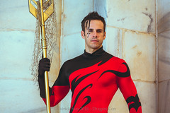SP_50242-2 (Patcave) Tags: sunday dragon con dragoncon 2016 dragoncon2016 cosplay cosplayer cosplayers costume costumers tempest aqualad dc comics superhero water trident sea