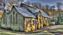 St Saviour's Mission, East Crompton (Jay-Aitch) Tags: lumix g vario 14140f3556 stsavioursmission eastcrompton shaw oldham panasonic gm5 hdr church shadows winter frost cold