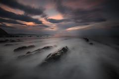 BARRIKA BEACH (Jesus Bravo) Tags: beach barrika bizkaia spain basque country long exposure playa seascape sunset