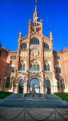 Hospital de Santa Creu i de Sant Pau (christinvl) Tags: barcelona sant pau