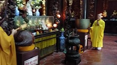 Brief video of the chanting in the Vinh Trang pagoda in My Tho (shankar s.) Tags: southeastasia seasia vietnam saigon hochiminhcity hcm southvietnam mekongdeltavietnam tiềngiangprovince mytho vinhtrangpagoda religiousshrine placeofworship houseofprayer buddhism buddhistfaith taoism buddhisttemple templeinterior shrineinterior sanctum sanctumsantorum buddhastatue halo buddhaimage templedeity mainhall chanting