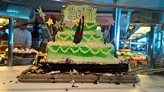 100/105 01-01-2017 Caribbean Sea (Mark Hewson) Tags: celebrity equinox cake 2017
