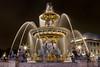 Fontaine Place de la Concorde (skind24) Tags: champselysées fountain france paris concorde night water