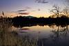 Coucher de soleil sur le lac (sergecos) Tags: coucherdesoleil sunset puestadelsol eau water reflet reflection nikon d7000 nature silhouette lac lake millas jonc sky cielo pyrénéesorientales canigou