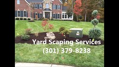 Yard Scaping Services - (301) 379-8238 (elvisalvarez) Tags: landscaping irrigationsystems landscapelighting lawnmaintenance lawnmowing