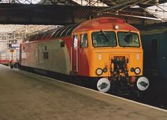 "Virgin Trains Class 57/3, 57303 ""Alan Tracy"" (37190 ""Dalzell"") Tags: vt virgintrains redsilver thunderbird brush type4 gm generalmotors geneticallymodified bodysnatcher class47 class478 class57 class573 57303 alantracy 47705 47554 47261 d1957 crewe"